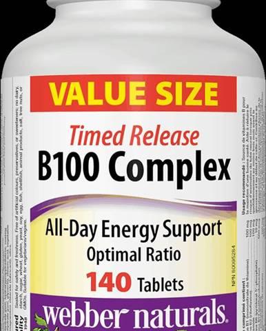 Webber Naturals B100 Complex 140 tbl