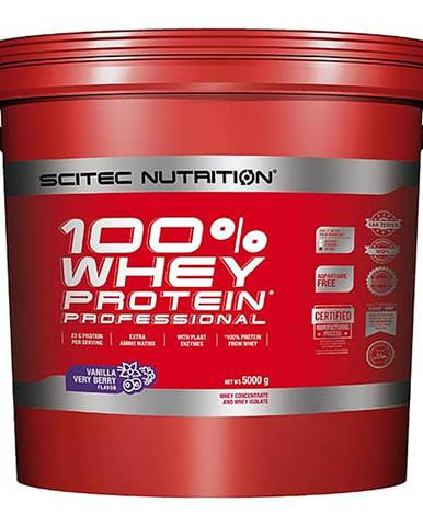 Scitec Nutrition 100% Whey Protein Professional 5000 g