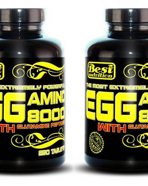 Best Nutrition 1+1 Zadarmo: EGG Amino 8000 od Best Nutrition 250 tbl. + 250 tbl.