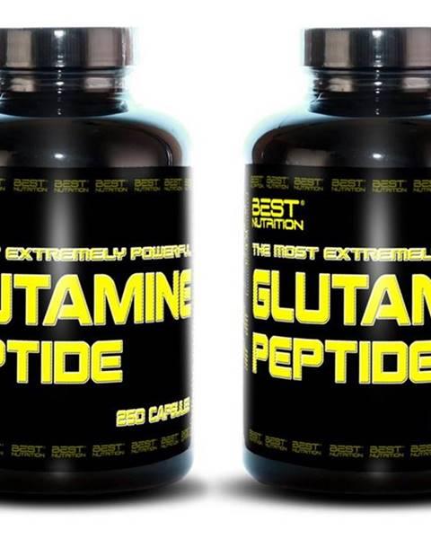 Best Nutrition 1+1 Zadarmo: Glutamine Peptide od Best Nutrition 250 kaps + 250 kaps.