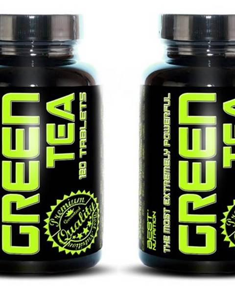 Best Nutrition 1+1 Zadarmo: Green Tea od Best Nutrition 120 tbl. + 120 tbl.