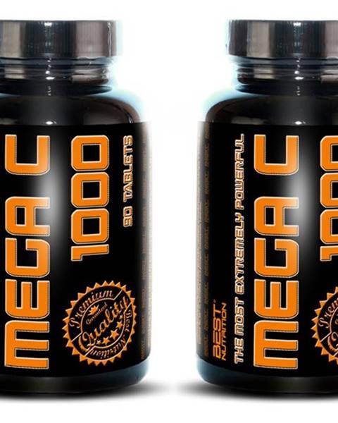 Best Nutrition 1+1 Zadarmo: Mega C 1000 - Best Nutrition 90 tbl. + 90 tbl.