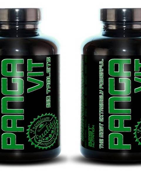 Best Nutrition 1+1 Zadarmo: Panga Vit od Best Nutrition 250 tbl. + 250 tbl.