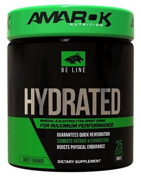 Amarok Nutrition Be Line Hydrated - Amarok Nutrition 500 g Orange