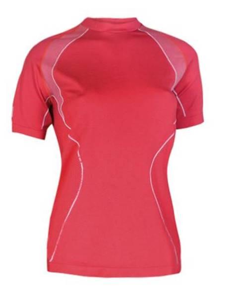 Brubeck Dámské thermo tričko Brubeck s krátkým rukávem Barva červená, Velikost M