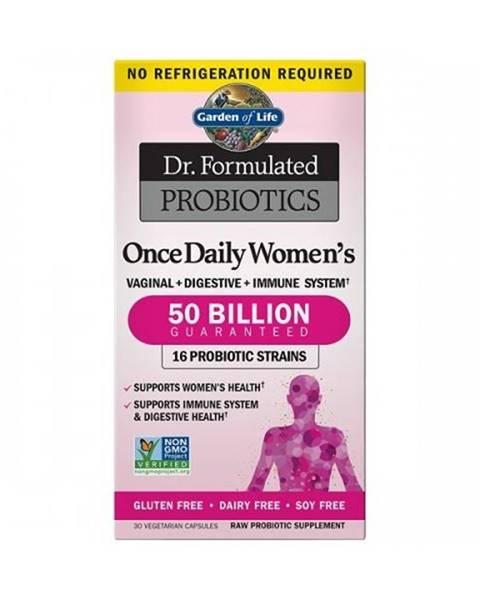 Garden of life Dr. Formulated probiotika pro ženy CFU 30 cps.