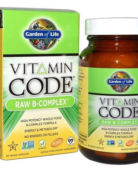 Garden of life Garden of Life Vitamin B Komplex - RAW 120 kapslí