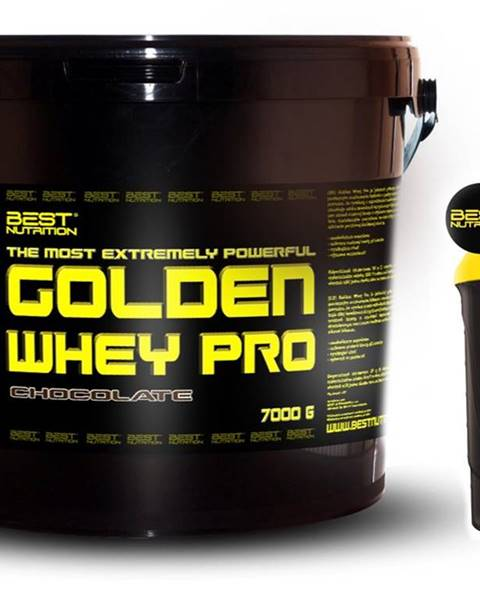 Best Nutrition Golden Whey Pro + Šejker Zadarmo od Best Nutrition 2,25 kg Banán