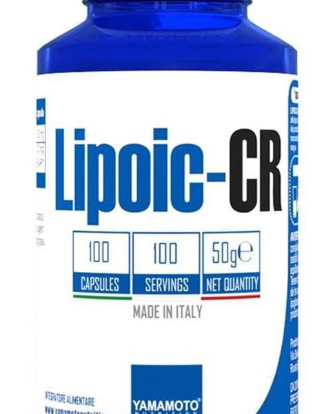 Yamamoto Lipoic-CR (kyselina alfa-lipoová ALA + chróm) - Yamamoto  100 kaps.