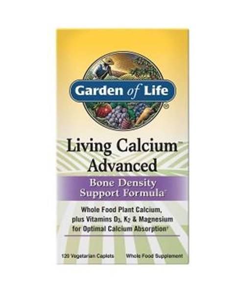 Garden of life Living Calcium Advanced Bone Density Support Formula - 120tabl.