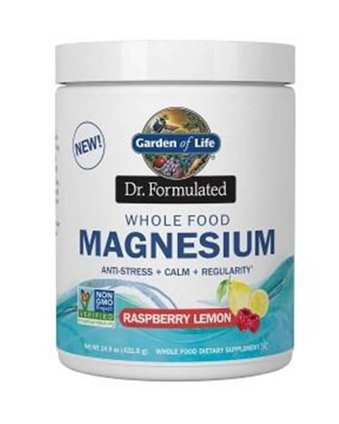 Garden of life Magnesium Dr. Fomulated - Hořčík - malina - citron 198,4g