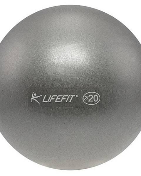 Lifefit Míč OVERBALL LIFEFIT 20cm, stříbrný