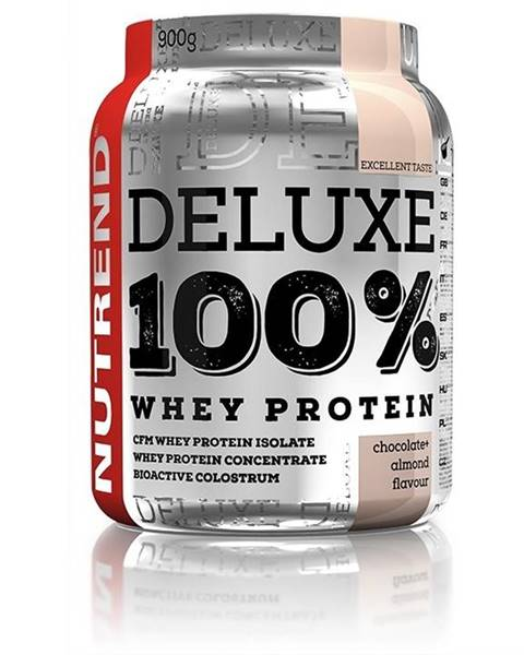 Nutrend Nutrend Deluxe 100 % Whey 900g Čoko-mandle