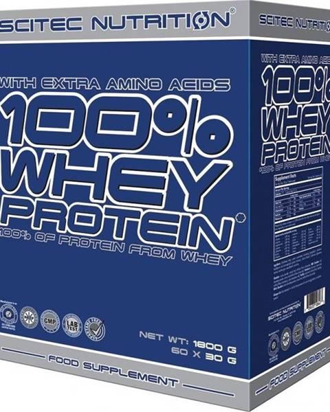 Scitec Nutrition Scitec Nutrition 100 Whey Protein 1800 g mix příchutí