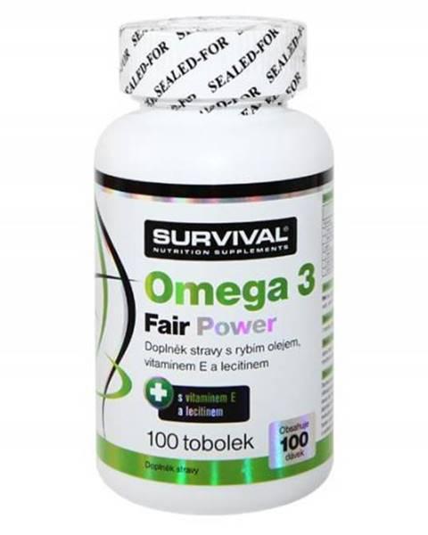 Survival Survival Omega 3 fair power 100 tablet 100kps.
