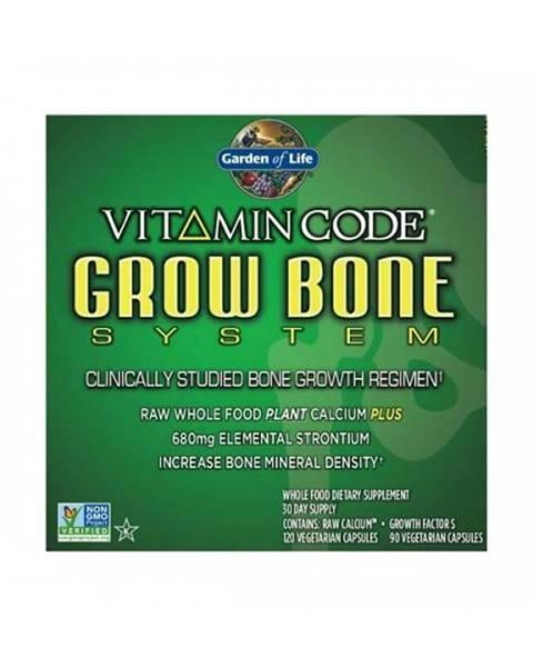 Garden of life Vitamin Code Grow Bone System - pro růst kostí