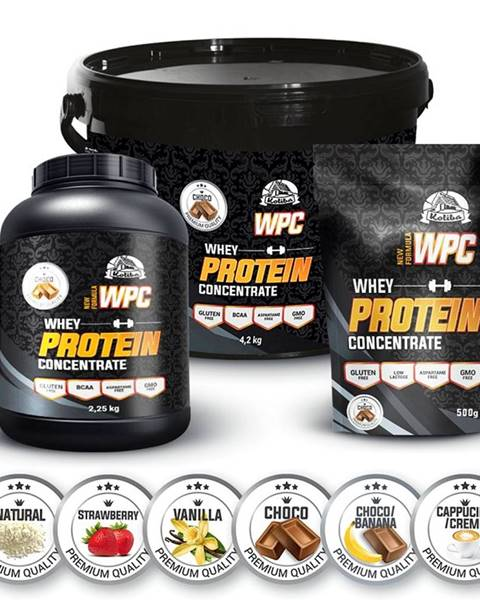Koliba Milk WPC Protein ochutený - Koliba Milk 1000 g Cappuccino/cream