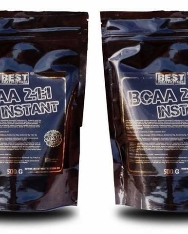 1+1 Zadarmo: BCAA 2:1:1 instant od Best Nutrition 250 g + 250 g Neutral