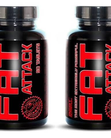 1+1 Zadarmo: Fat Attack od Best Nutrition 90 tbl. + 90 tbl.