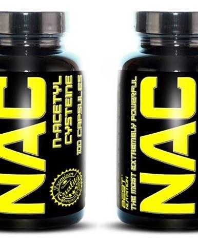 1+1 Zadarmo: NAC (N-acetylcysteine) - Best Nutrition 100 kaps. + 100 kaps.