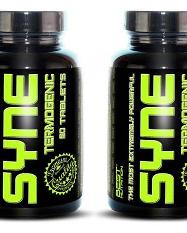 1+1 Zadarmo: Syne Thermogenic Fat Burner od Best Nutrition 90 tbl. + 90 tbl.