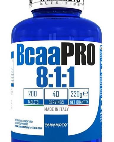 Bcaa PRO 8:1:1 Kyowa Quality - Yamamoto  200 tbl.