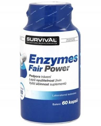 Enzymes Fair Power - tráviace enzýmy 60kps.