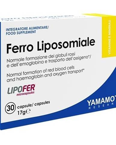 Ferro Fosfolipidico (železo + vitamín C) - Yamamoto 30 kaps.