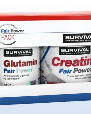 Glutamin Fair Power + Creatin Fair Power 1 pack