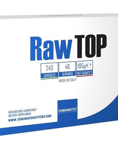 Raw Top (až 21 prísad vrátane botanických výťažkov) - Yamamoto  240 kaps.