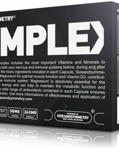 SizeAndSymmetry Multivitamin 60 kps