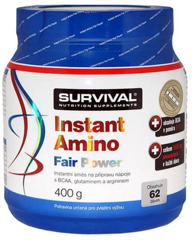 Survival BCAA Instant amino fair power 6.4 g 6,4 g Pomeranč
