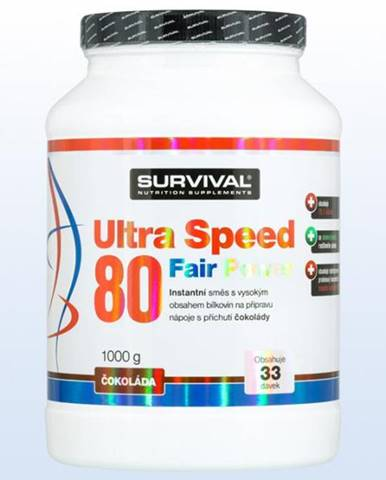 Ultra Speed 80 Fair Power  čokoláda 1000g