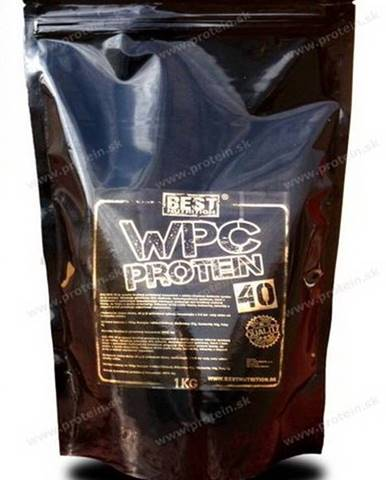 WPC Protein 40 od Best Nutrition 1000 g Neutral