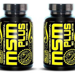1+1 Zadarmo: MSM Plus od Best Nutrition 120 tbl. + 120 tbl.