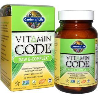 Garden of Life Vitamin B Komplex - RAW 120 kapslí