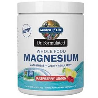 Magnesium Dr. Fomulated - Hořčík - malina - citron 198,4g
