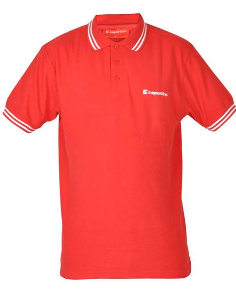Insportline Športové tričko inSPORTline Polo červená - S