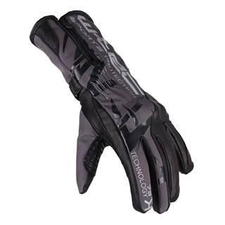 Moto rukavice W-TEC Kaltman čierno-šedá - S