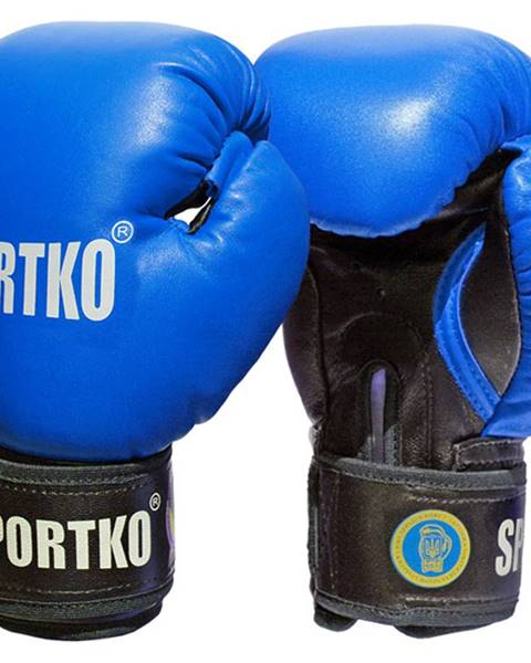 SportKO Boxerské rukavice SportKO PK1 modrá - 10