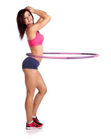 Obruč inSPORTline Weight Hoop 100 cm