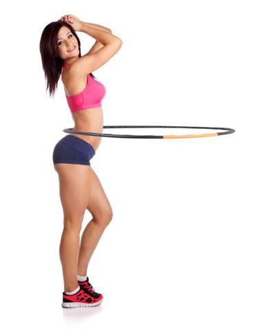 Obruč inSPORTline Weight Hoop 105 cm