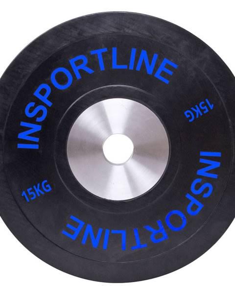 Insportline Gumový kotúč inSPORTline Bumper Plate 15 kg