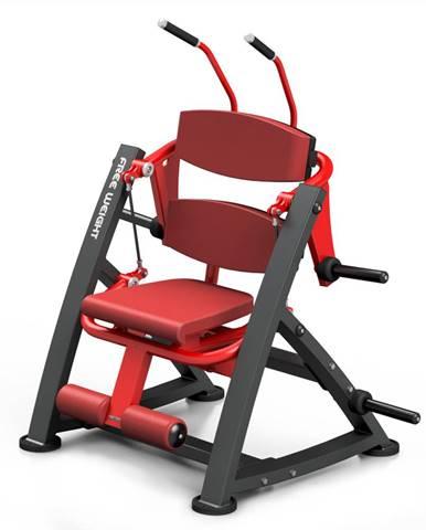 Posilňovací stroj na brušné svaly Marbo Sport MF-U015 červená