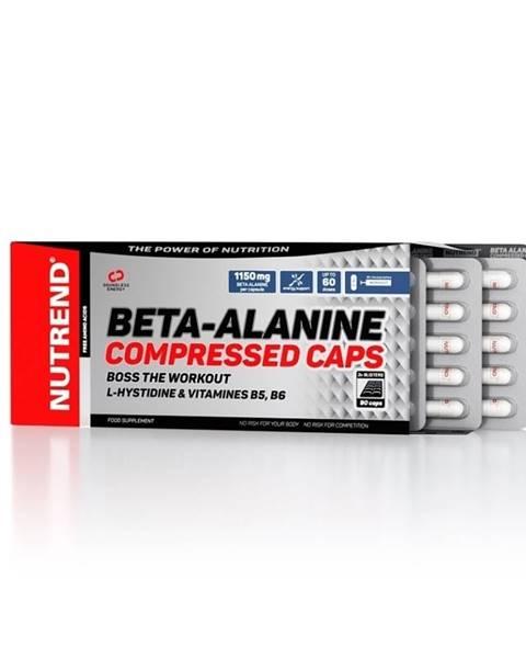 Nutrend Aminokyseliny Nutrend Beta-Alanine Compressed Caps 90 kapsúl