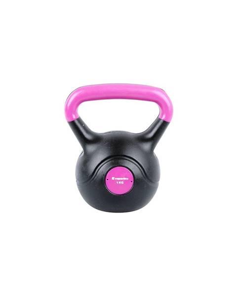 Insportline Činka inSPORTline Vin-Bell Dark 1 kg