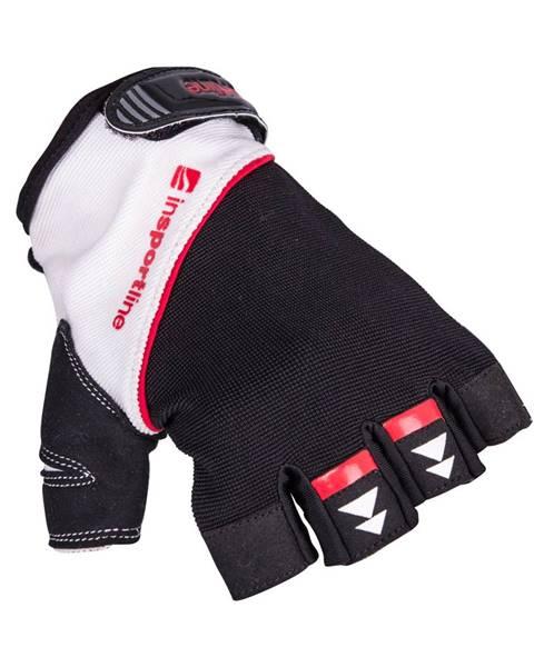 Insportline Fitness rukavice inSPORTline Harjot čierno-biela - S
