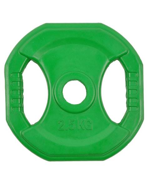Insportline Hranatý pogumovaný kotúč inSPORTline Pump 2,5 kg
