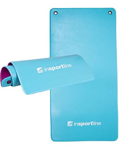 Podložka na cvičenie inSPORTline Aero Advance 120x60x0,9 cm modro-fialová