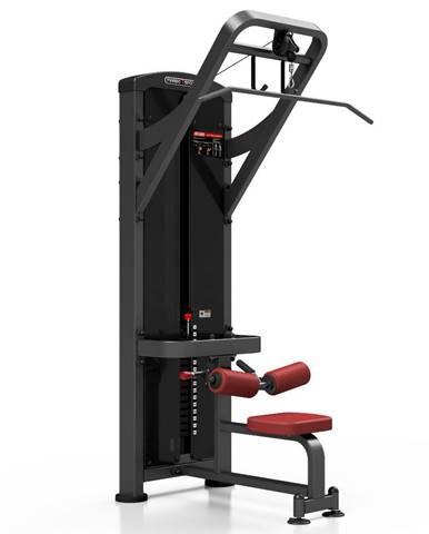 Posilňovací stroj - horné príťahy Marbo Sport MP-U206 červená